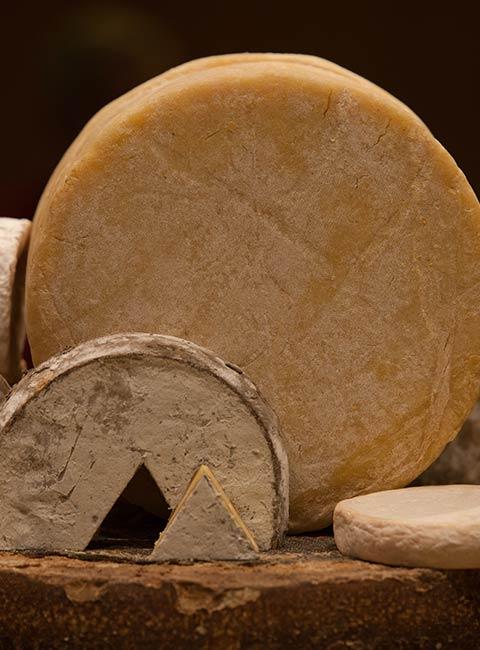 Fromage de l'un des fromagers de la Descente des Alpages